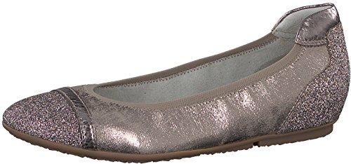 Tamaris 1-1-22139-20 Damen Ballerina, Sommerschuhe für die modebewusste Frau braun (Pepper Comb), EU 37