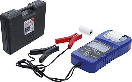 BGS 2133 | Digitaler Batterie- und Ladesystem-Tester | mit Drucker