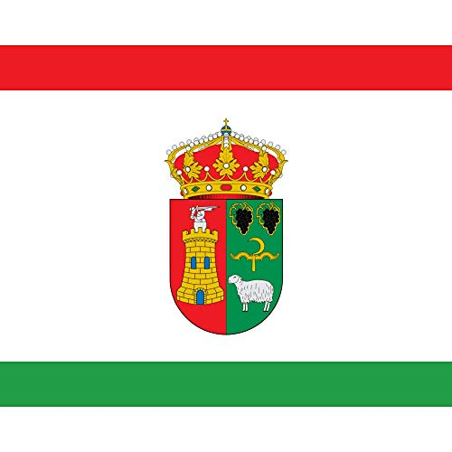 magFlags Bandera Large Cuadrada, o de 1 1. Blanca | 1.35m² | 120x120cm