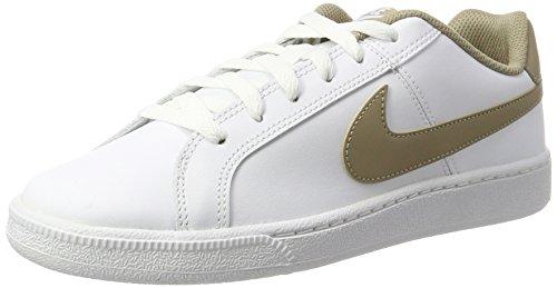 Nike Court Royale, Scarpe da Ginnastica Uomo, Bianco (White/Khaki), 43 EU