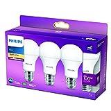 Philips Lighting Lampadina LED Goccia, 3 Pezzi, Equivalente a...