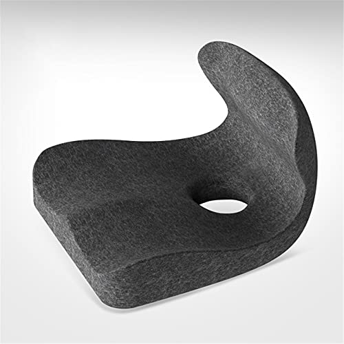 BBZZ Seat Cushion And Lumbar Support Pillow in One, Memory Foam, Suitable for Office Chairs, Seats, Game Chairs, Reclining Chairs,D