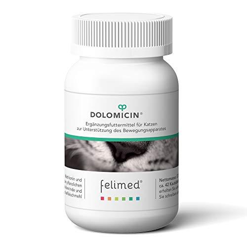 Felimed-Dolomicin für Katzen/Unterstützung der Gelenke/Katzen-Vitamine/Grünlippmuschel, Aminosäuren