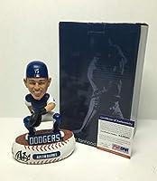 "Austin Barnes Signed Dodgers""Legends Of 'The Diamond"" Baseball Bobblehead PSA - Autographed MLB Figurines"