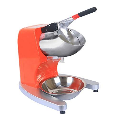 Broyeur Glace Pilée Électrique à Lame en Acier Inoxydable 300W 2200r / Min Machine de Cuisine de Fabricant de Cône de Neige de Glace Pilée