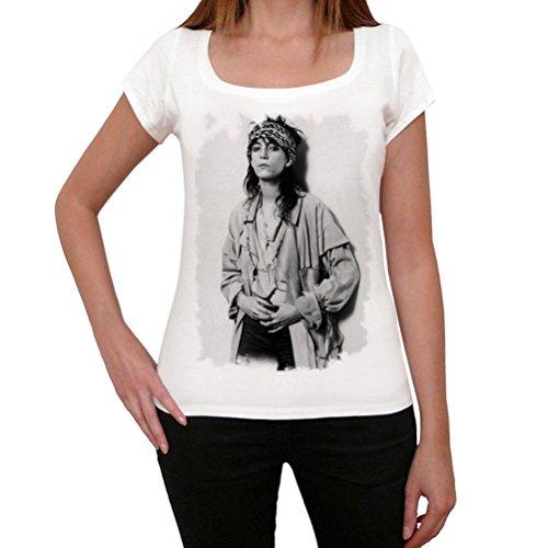 One in the City Patti Smith, tshirt damen weiß, tshirt mit bild damen, geschenke tshirt
