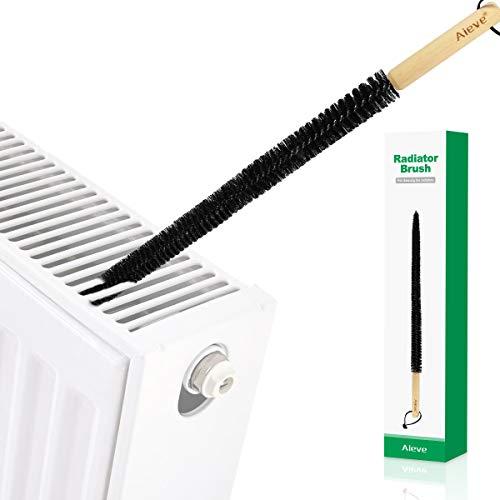 AIEVE 78cm Heizkörper Bürste Reinigungsbürste Heizkörperbürste Heizungsbürste Reiniger Reinigung Werkzeug für Heizung Heizungkörper