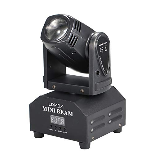 Yorten LED Stage Effect Lamp Total 50W Rotating Moving Head DMX512 Sound...