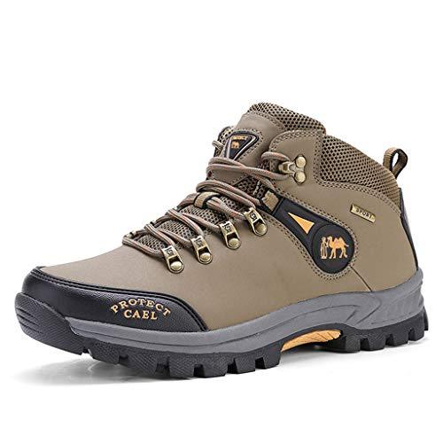Outdoor-Wanderschuhe für Männer, Bergschuhe, rutschfeste Trailrunning-Schuhe, lässige Outdoor-Sportschuhe mit dicken Sohlen, Wanderschuhe, geeignet zum Wandern und Laufen im Freien