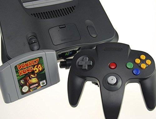 Nintendo 64 Konsole mit Donkey Kong 64