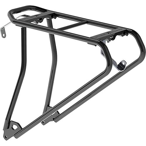 Racktime Unisex– Erwachsene Topit Evo Gepacktrager, schwarz, 1size