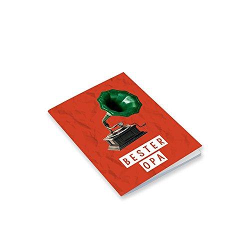 Sheepworld, Gruss und Co - 44795 - Notizheft, Nr. 23, Bester Opa, A6, Blanko, 24 Blatt, geheftet