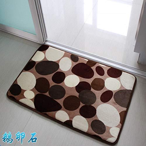 Soft Bath Mat Set Water Absorption Bathroom Carpet Rug Bathroom Mat Home Living Room Kitchen Door Floor Mat for Toilet Non-slip - dashitou 1pc,about 40x60cm