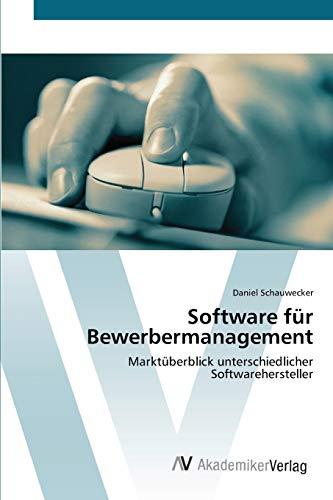 Software für Bewerbermanagement: Marktüberblick unterschiedlicher Softwarehersteller