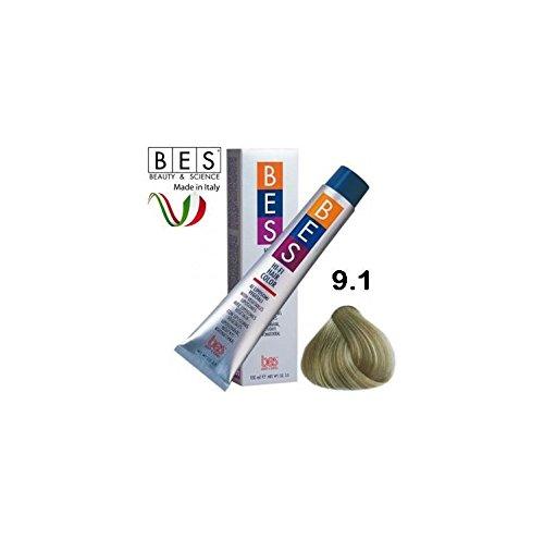 Bes, Hi-Fi Color 100 ml 9.1 Blond Très Clair Cendre