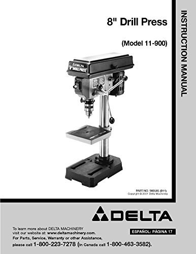 Top 10 best selling list for delta 8 drill press 11-900