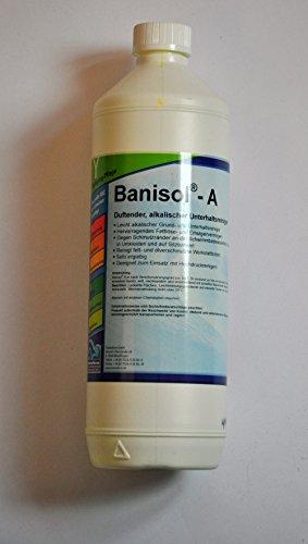 Banisol A alkalischer Unterhaltsreiniger, Fett- und Schmutzlöser 1l