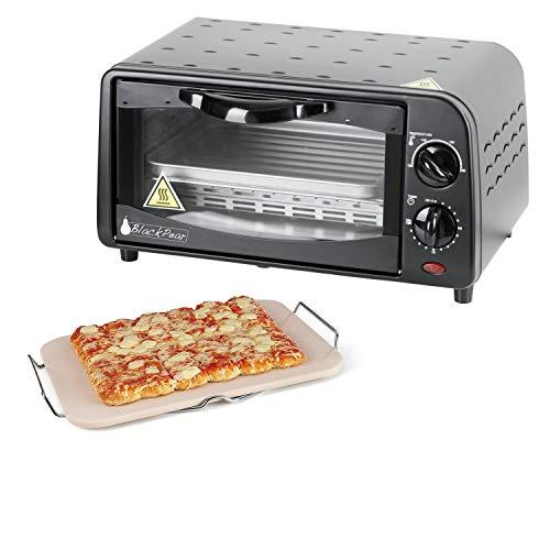 Set Pierre à pizza rectangulaire + Black Pear BFO09 - Four 9L