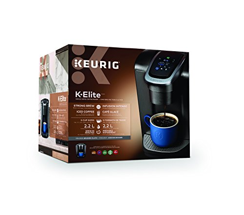 Cafetière Keurig K-Élite, Capacité de 8 Tasses - 2