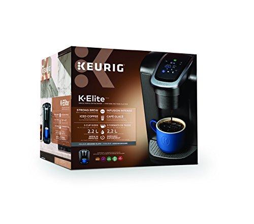 Cafetière Keurig K-Élite, Capacité de 8 Tasses - 1