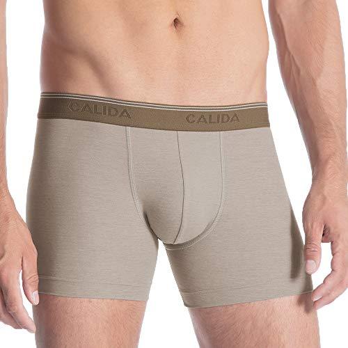 CALIDA Herren Fresh Cotton Hipster, Braun (Bronce 907), Large
