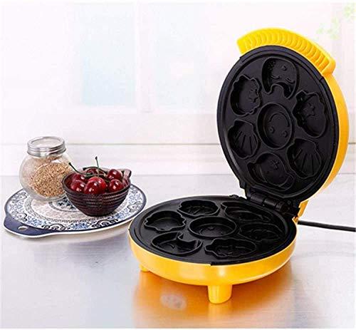 Breadmaker Cake Machine Mini Ontbijt Machine Automatische huis wafelijzer Kinderen Cartoon ontbijt Machine 8bayfa