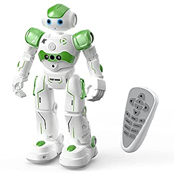 ACECHUM Smart Robot Toy for Kids Programmable Remote Control Robots with Interactive Hand Motion Gestures Rechargeable Dancing RC Robot Toys for 3-12 Year Old Boys Girls Gifts