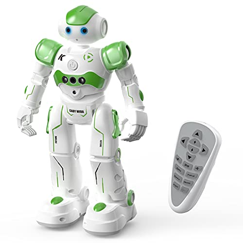 ACECHUM Smart Robot Toy for Kids, Programmable Remote Control Robots with Interactive Hand Motion Gestures, Rechargeable Dancing RC Robot Toys for 3-12 Year Old Boys Girls Gifts