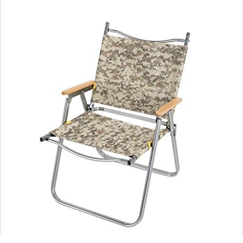 Chaise longue Chaise pliante en aluminium à la maison chaise tabouret portable ultra-léger Enregistrer l'espace (Couleur : A)