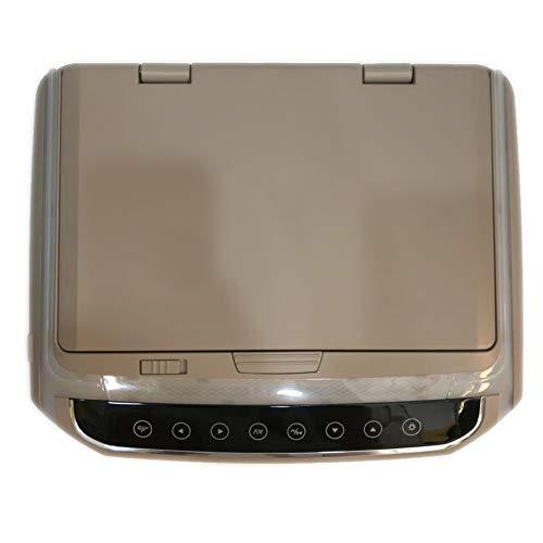 QLPP draagbare DVD-speler voor auto, 10,2inch 1080P videospeler IPS-scherm Wide Screen ultradunne dakmontage-monitor met HDMI-TF-kaarthouder Touch-