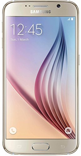 Samsung Galaxy S6 G920A 64GB Unlocked GSM 4G LTE Octa-Core Android Smartphone w/ 16MP Camera - Gold