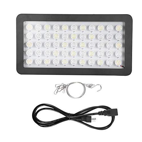 Caiqinlen Luz de Planta de Agua con Enchufe de EE. UU, Lámpara LED para Acuario, 85-265 V para Acuario de pecera