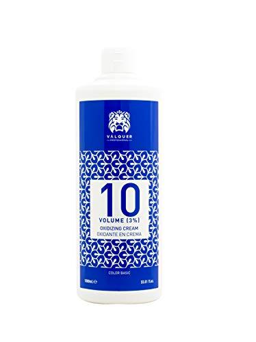 Valquer Oxidante Ultra-Cremoso. Oxigenada en crema para el cabello. Coloración permanente capilar .- 10 Vol (3%), 20 vol (6%), 30 vol (9%), 40 vol (12%)