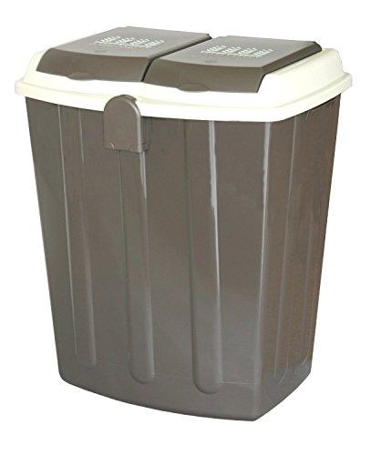 平和工業 ゴミ箱 エコペール 75L チョコレートブラウン