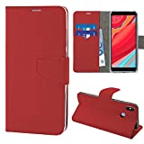 N NEWTOP Cover Compatibile per Xiaomi Redmi S2, HQ Lateral Custodia Libro Flip Chiusura...