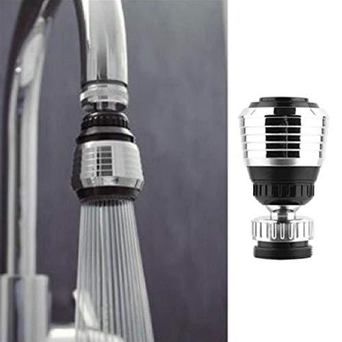 Rotable Ajustable 360 rotado Grifo Boquilla Filtro Adaptador Ahorro de Agua Grifo aeroador difusor de Alta presión Herramientas de Cocina (Color : 1PC)