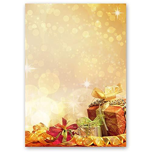 Motivpapier WEIHNACHTSGESCHENKE Weihnachten - DIN A5 Format 250 Blatt - Paper-Media