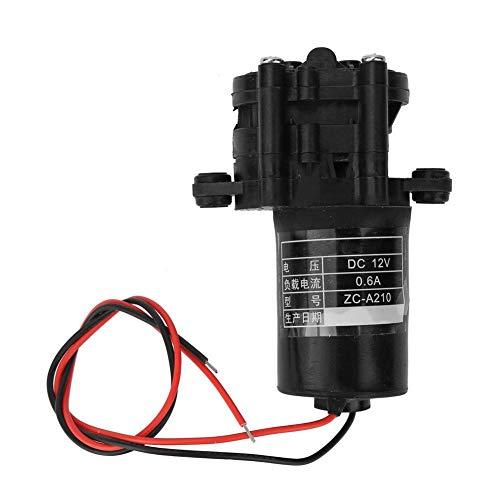 Acogedor 12 / 24v Micro Wasserpumpe, Mini Brushless Tauchwasserpumpen, geringer Stromverbrauch, geräuscharm, für Luftbefeuchter, medizinische Geräte, Wasseraufbereitung(12v)