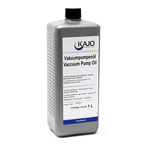 Kajo Universal Vakuumpumpenöl Vakuumöl für Drehschieberpumpen 1000 ml