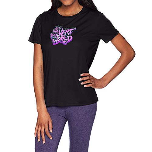 HAOSHUN Mujer Lil Uzi Vert Logo Camiseta T-Shirt tee Top Shirt Black