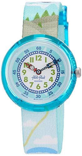 FlikFlak Jungen Analog Quarz Uhr mit Stoff Armband FBNP118