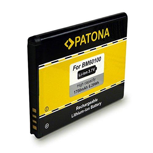 PATONA Batteria BM60100 Compatibile con HTC One SV Desire 500