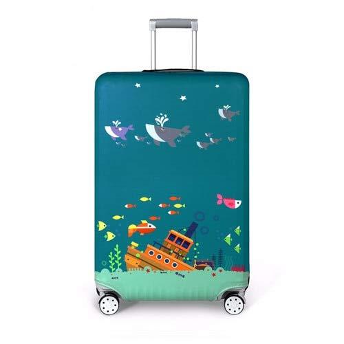 Yoin Kat Patroon Reizen Bagage Cover Elastische Trolley koffer vrouwen mannen Bescherm Stofzuiger Bagage Case Accessoires Levering