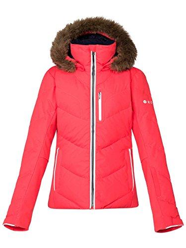 Roxy Damen Snowboard Jacke Snowstorm Jacket, Diva Pink, M