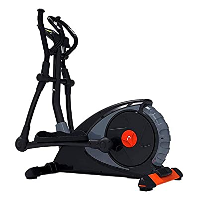 HWZGSLC Professional Indoor Elliptical Cross Trainer, Cardio Home Office Fitness Workout Machine Suitable for All Ages