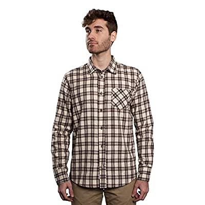 Men's Untucked Plaid Flannel Shirt: Slim Fit, Long Sleeve - Made in The USA
