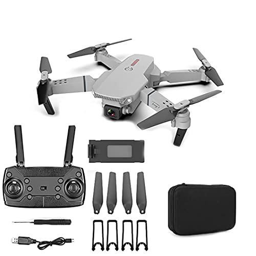 FMHCTN Droni con Fotocamera, quadricottero 4K HD Pieghevole, Adatto per Principianti, modalità Senza Testa, Volo in traiettoria, Regalo per Bambini, Telecamera Aerea per Adulti