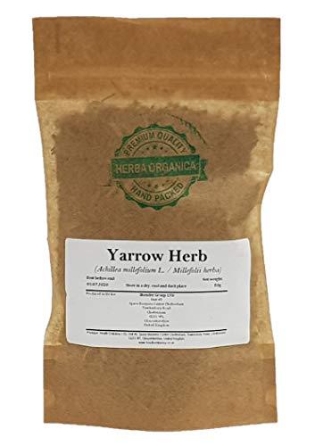 Milenrama Hierba / Achillea Millefolium L / Yarrow Herb # Herba Organica # Fflor De La Pluma (50g)