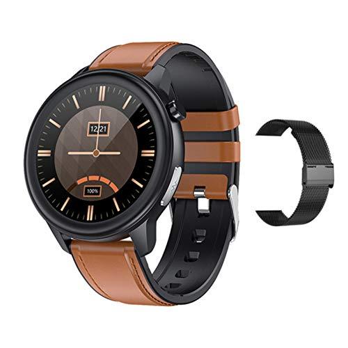 YDZ ECG PPG Deportes Smart Watch Men's Android iOS Reloj De Mujer Ritmo Cardíaco Y Esfigmomanómetro E80 Deportes Smartwatch Fitness Tracker,C