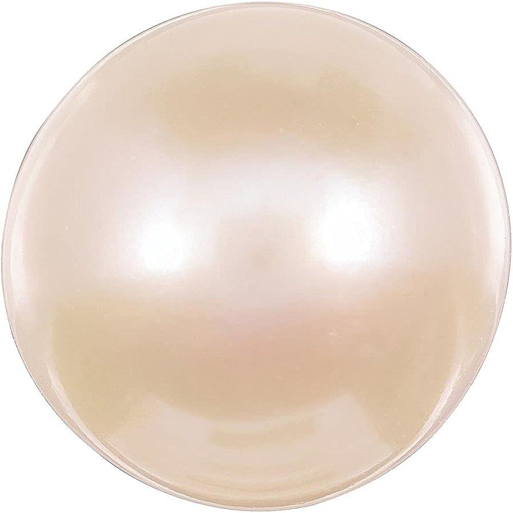 Max 73% OFF Jewelry-PEARL FW Superlatite Cultured 7MM QUALITY HALF DRILLED A